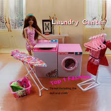 barbie dollhouse furniture sets. new arrival girl gift play toy doll house laundry center furniture for bjd simba lica monster barbie dollhouse sets o