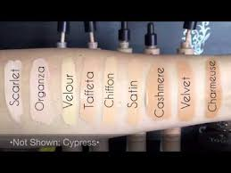Younique Touch Foundation Color Chart Younique Mineral Concealer Shades Mineral Concealers