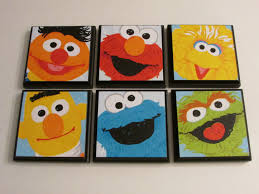 Sesame Street Bedroom Decorations Sesame Street Theme Etsy