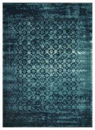 modern bazaar indigo ink wash wool rug area rugs by home 3x5