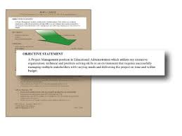 good objective statements for resume best template collection good objectives to put on resumes