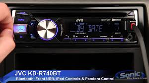 jvc kd rbt car stereo ipod iphone android ready w jvc kd r740bt car stereo ipod iphone android ready w bluetooth