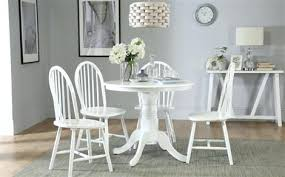 ds10005541 white gloss dining table and chairs ikea kingston round with 4 windsor dining room white