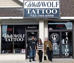 White Wolf Tattoo Hazlet New Jersey Artist Tommy Wood