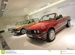 Row Of Classic To Modern BMW 3 Series On Display In BMW Museum ...