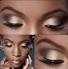 8 eyeshadow ideas for black women gold eyeshadow dark skineyeshadow tutorial for brown eyes