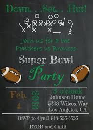 Super Bowl Invitations Losdelat Co