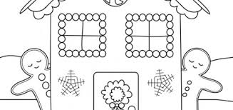 Small Picture gingerbread man coloring pages gingerbread house coloring pages
