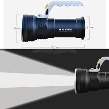 <b>8000LM LED</b> Searchlight <b>Flashlight</b> Long Range Outdoors Lantern ...