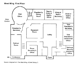 west wing oval office. West Wing Office Space Layout, Circa 1990 Oval