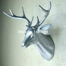 deer head wall mount animal head wall mount mounted animal heads metal animal heads wall art