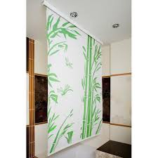 cassette shower curtain roller blind 140cm wide x 190cm drop bamboo
