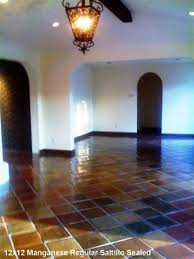 Decorating With Saltillo Tile Floors Sealed Manganese Saltillo Tile  Saltillo Tile Albuquerque Designing Home