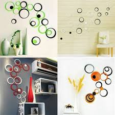 wall decoration 2 set lot 10 colors for choose 3d diy wall sticker amp