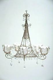 hanging candle chandelier chandeliers and chain rustic outdoor non electric uk han