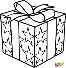 Small Picture Coloring Pages Of Presents Miakenasnet