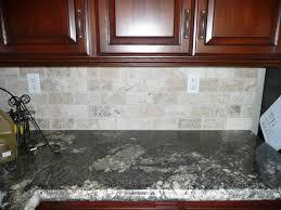 tumbled stone kitchen backsplash. Natural Stone Subway Tile Backsplash   RE: Dark Counters - Tumbled Kitchen K