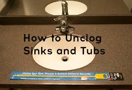how to unclog a sink or tub drain without chemicals
