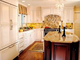 Granite With Cream Cabinets Backsplash Ideas For Granite Countertops Hgtv Pictures Hgtv