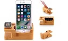 We increased the size of all three coils to create a larger charging zone, allowing. Up To 81 Off On Bamboo Charging Dock Station Groupon Goods