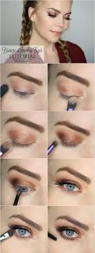 bronze smokey eye tutorial 2