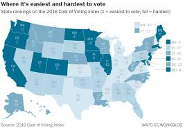Us Voter Turnout Chart Low Voter Turnout Is No Accident According To A Ranking Of