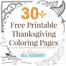 35 Thanksgiving Pages To Print And Color Thanksgiving Coloring