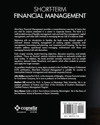 short term financial management john zietlow matthew hill terry short term financial management john zietlow matthew hill terry maness 9781626616837 textbooks amazon