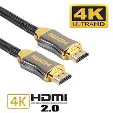1M 2M 3M 5M 10M 15M 4K 60Hz Cáp HDMI tới HDMI Tốc độ cao 2.0 Mạ vàng Dây cáp  kết nối mạ vàng cho TV UHD FHD 3D Xbox PS3 PS4