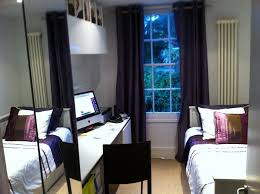 office spare bedroom ideas. Pure White Computer Desk With Wardrobe Mirror Sliding Door And Platform Bed Spare Bedroom Ideas Room Ideas. Cool Decorating Office