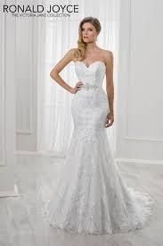 victoria jane lili satin strapless fishtail wedding dress