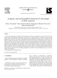Etl Design Document Etl Design Document