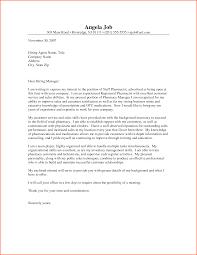 Cover Letter New 10 Cover Letter Examples For Pharmacy Denial