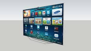 samsung tv 8000 series. large preview of 3d model samsung tv 8000 series smart hub led 240 hz tv