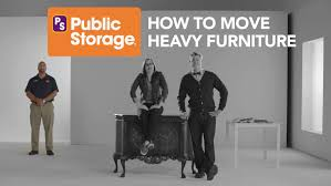 Public Storage How to Easily Move Heavy Furniture