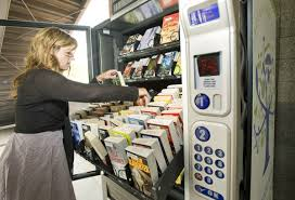 Vending Machine Books Impressive Fullerton Installs 4848 Book Vending Machine Orange County Register
