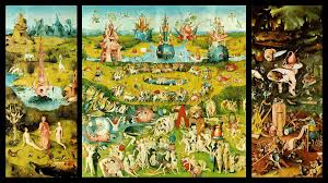 the garden of earthly delights hieronymus bosch oil on oak