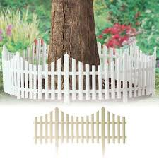 4pc white plastic with wooden effect