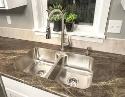 KRAUS Undermount Stainless Steel 30 In Single Bowl Kitchen Sink 25 Inch Undermount Kitchen Sink