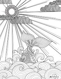 Coloring Pages For Spring Free Downloads
