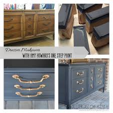 dresser transformed with amy howard s one step paint evolution of style