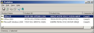 downloading microsoft office 2003 for free produkey recover lost product key cd key of windows ms