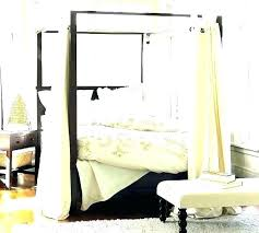 canopy bed curtains queen – dreamornightmare.com