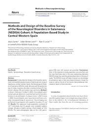 Baseline Survey Design Pdf Methods And Design Of The Baseline Survey Of The