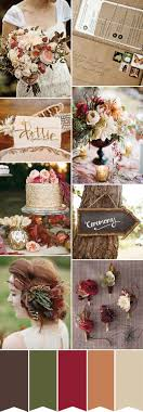 Rustic Color Schemes Best 25 Fall Color Schemes Ideas On Pinterest October Wedding