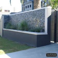 Small Picture modern fence designs metal with concrete walls Google Search