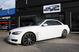 BMW 3 Series bmw 3 series in white : Wraap - Gallery - BMW 3 Series Cabriolet No2