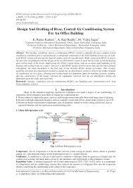 pdf design and drafting of hvac