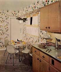 atomic cabinet pulls modernize a 60s birch kitchen