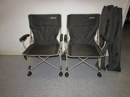 maccabee chairs sac valley auctions lot 5 pair of maccabee folding chairs